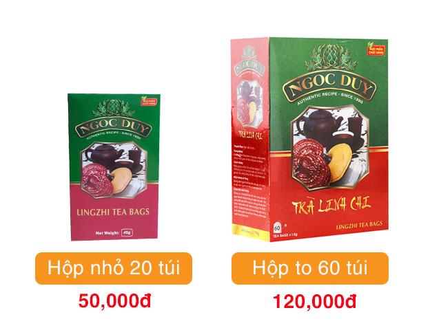 Giá trà Linh chi