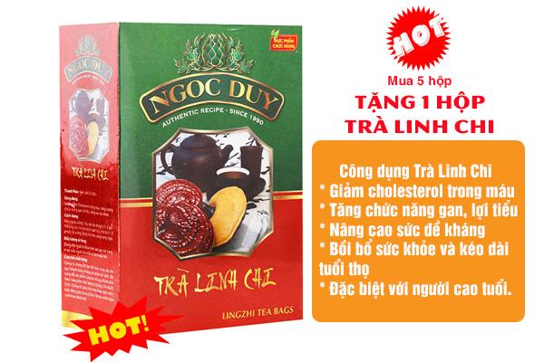 Tặng Trà Linh Chi