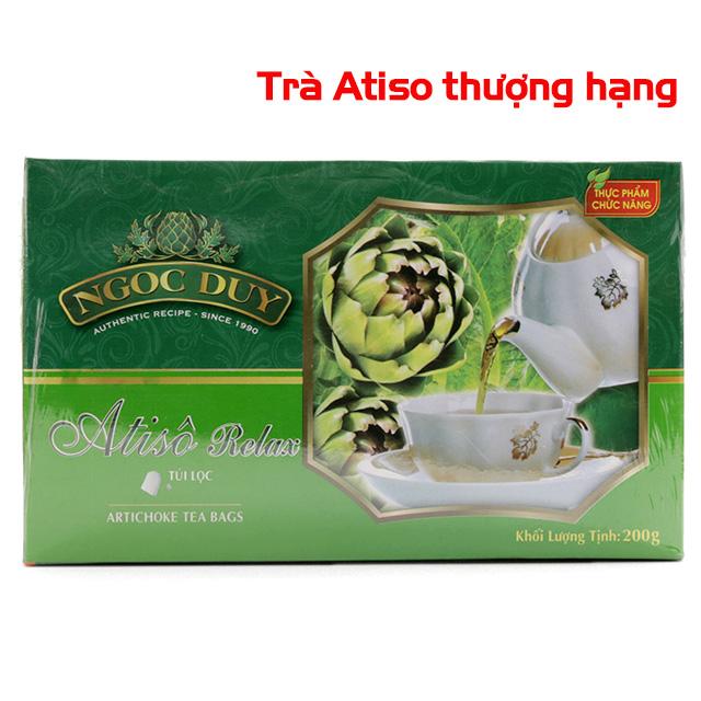 Trà Atiso Relax hộp (100 túi) loại 1