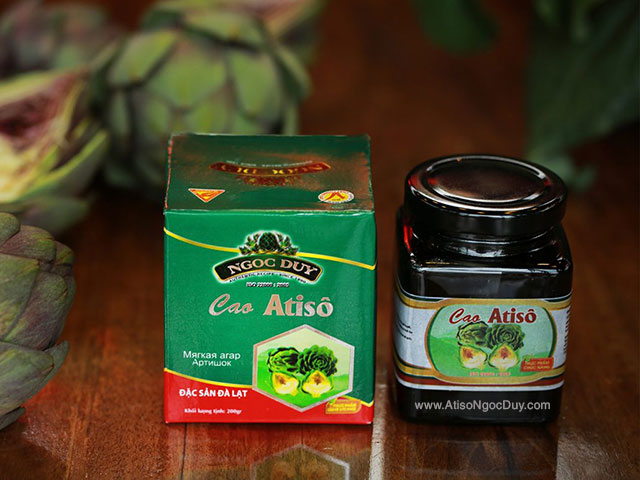 Cao ngọt Atiso hộp 200g