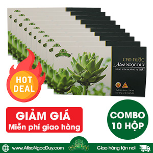 COMBO 10 hộp Cao Nước Atiso Ngọc Duy