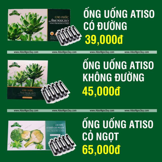 Giá Ống Uống Atiso